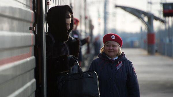 Vlak v Rostovské oblasti - Sputnik Česká republika