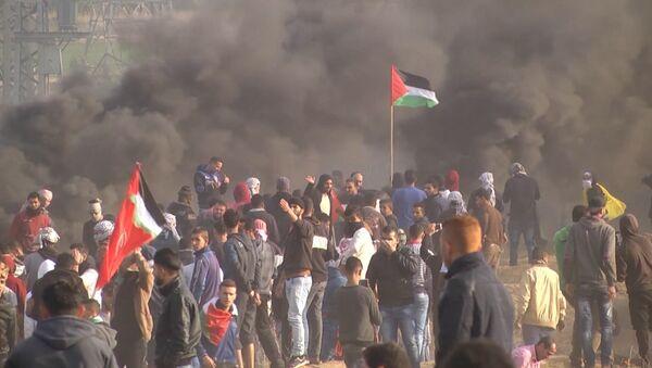 Napjaté ovzduší: Nepokoje v Palestině pokračují - Sputnik Česká republika