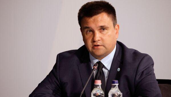 Ukrajinský ministr zahraničních věcí Pavlo Klimkin - Sputnik Česká republika