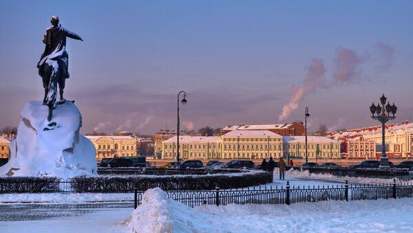 Zimní Petrohrad - Sputnik Česká republika
