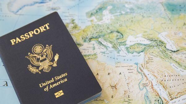 Americký pas - Sputnik Česká republika