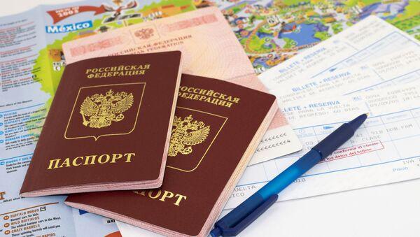 Ruský cestovní pas - Sputnik Česká republika