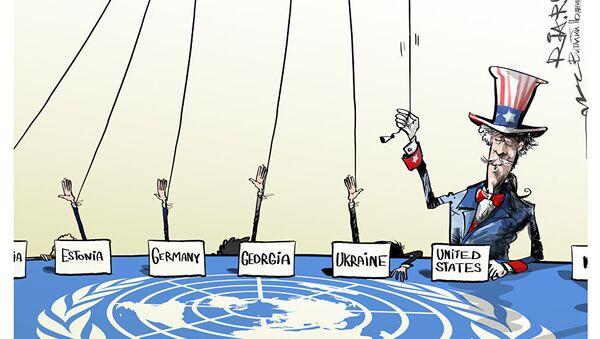 Poslušní OSN - Sputnik Česká republika