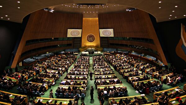 Valné shromáždění OSN - Sputnik Česká republika