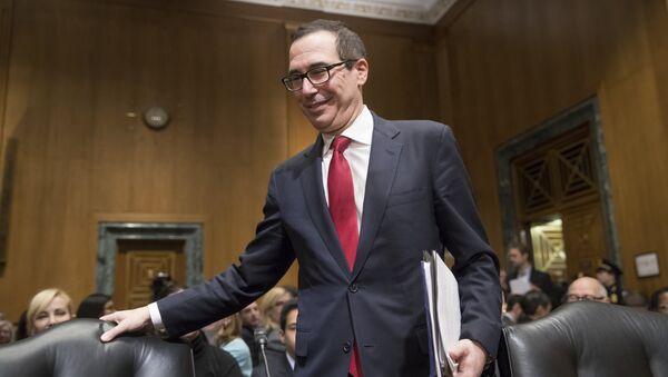 Americký ministr financí Steven Mnuchin - Sputnik Česká republika