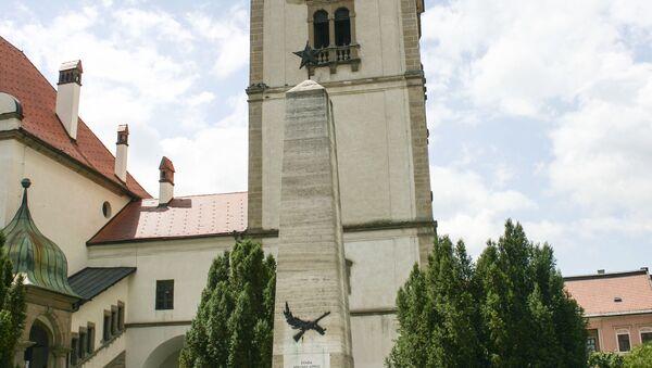 Pamätník osloboditeľom v Levoči - Sputnik Česká republika