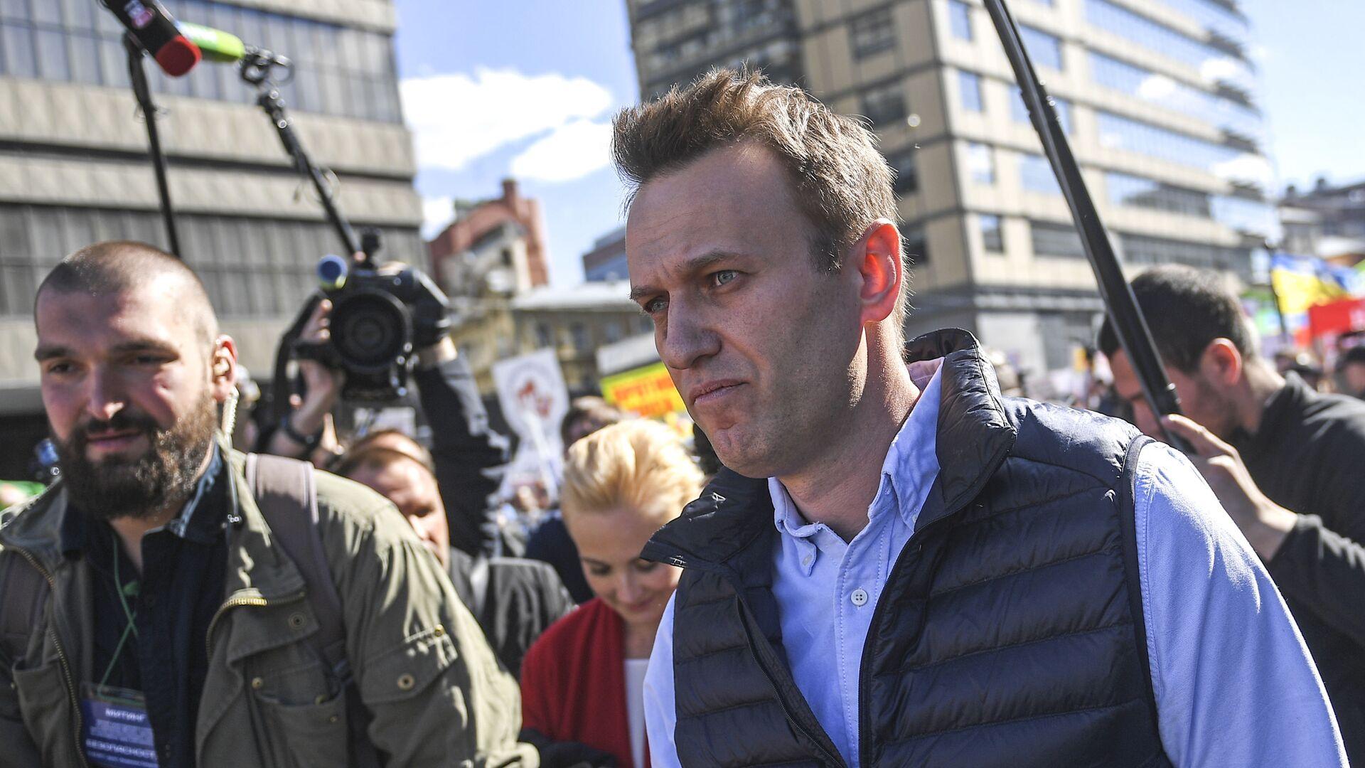 Lídr ruské opozice Alexej Navalnyj - Sputnik Česká republika, 1920, 28.09.2021