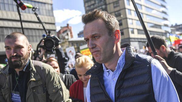 Lídr ruské opozice Alexej Navalnyj - Sputnik Česká republika