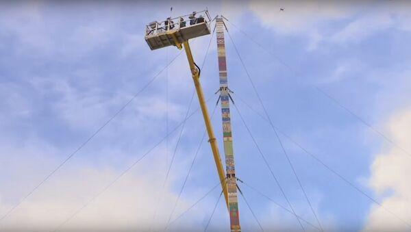 Byla natočena stavba nejvyšší na světě věže z Lega - Sputnik Česká republika
