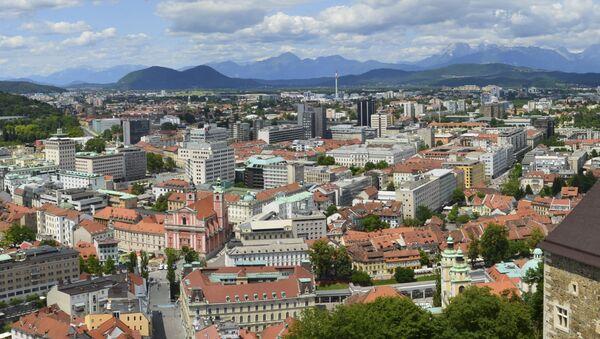 Lublaň, Slovinsko  - Sputnik Česká republika