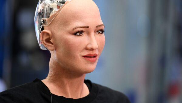 Robot Sophia - Sputnik Česká republika