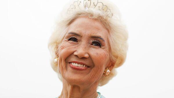 Ma Jing, 78letá účastnice soutěže krásy v Číně - Sputnik Česká republika