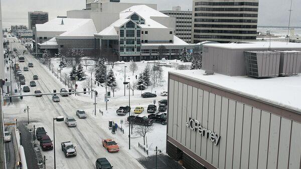 Město Anchorage na Aljašce. Ilustrační foto - Sputnik Česká republika