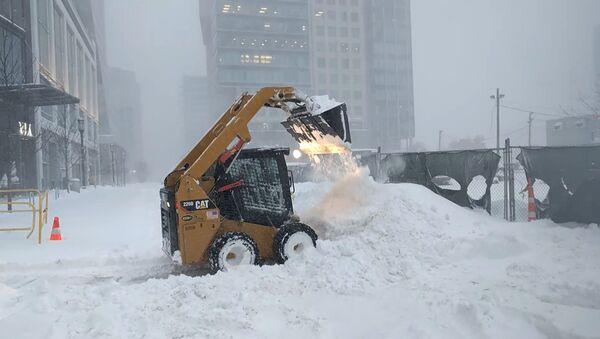 Kalamita jako na Sibiři: USA zasypal sníh - Sputnik Česká republika