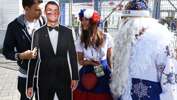 Portugalský  fotbalista Christian Ronalda - Sputnik Česká republika