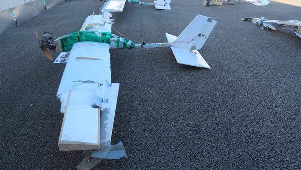 Drony, které použili teroristé při útoku na ruskou základnu Hmímím  - Sputnik Česká republika