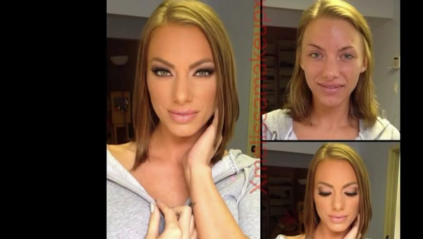 Kryt sňat: jak vypadají pornoherečky bez make-upu - Sputnik Česká republika
