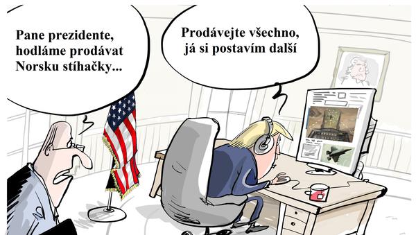 Ten případ, kdy se reálný a virtuální svět spojují ve hlavě mocnáře světa - Sputnik Česká republika