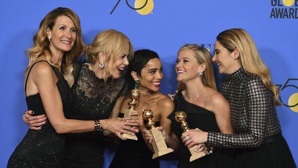 Herečky Laura Dern, Nicole Kidman, Zoe Kravitz, Reese Witherspoon a Shailene Woodley - Sputnik Česká republika