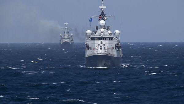 Bitevní lodě NATO - Sputnik Česká republika