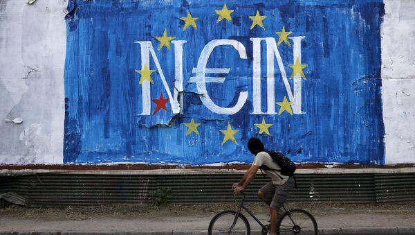 Graffiti v Aténach - Sputnik Česká republika