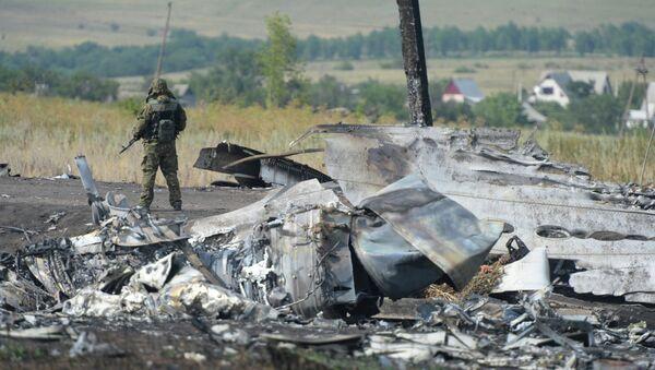 Nizozemští expertové pracují na místě havárie Boeingu 777 - Sputnik Česká republika
