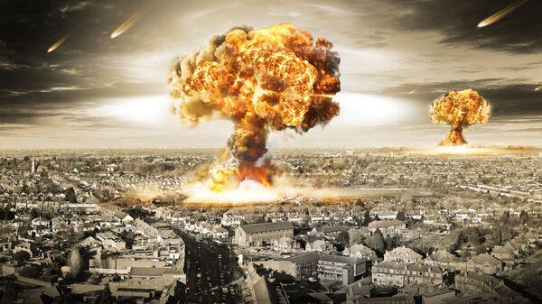 Výbuch. Ilustraní foto - Sputnik Česká republika