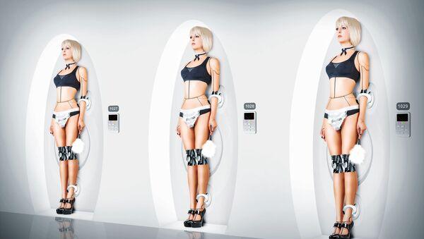 Tři sexuální roboti - Sputnik Česká republika