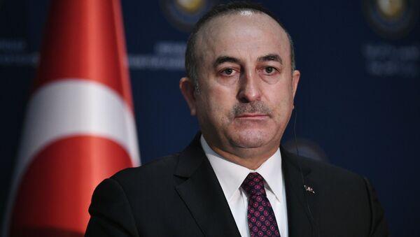 Turecký ministr zahraničí Mevlüt Çavuşoglu - Sputnik Česká republika