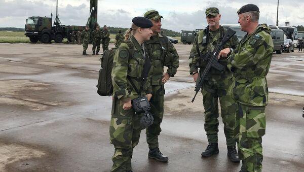 Švédští vojáci. Ilustrační foto - Sputnik Česká republika