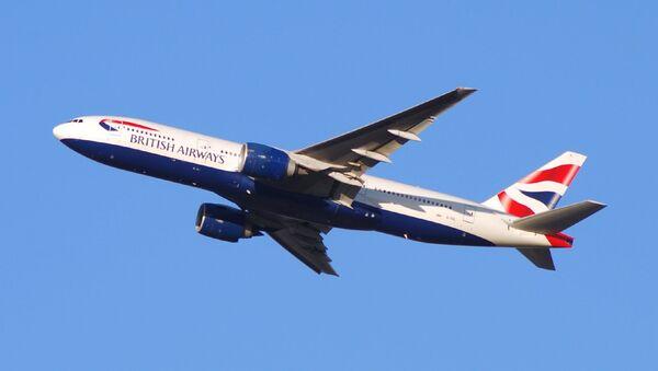 British Airways Boeing 777. Ilustrační foto - Sputnik Česká republika