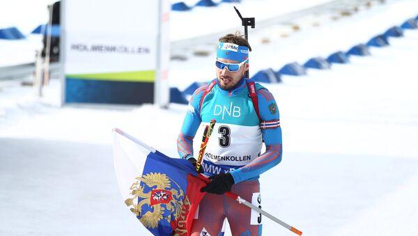 Ruský biatlonista Anton Šipulin - Sputnik Česká republika