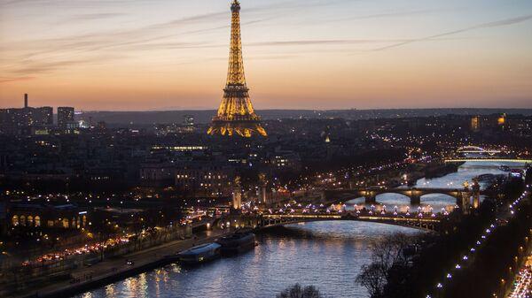 Pohled na Eiffelovu věž - Sputnik Česká republika