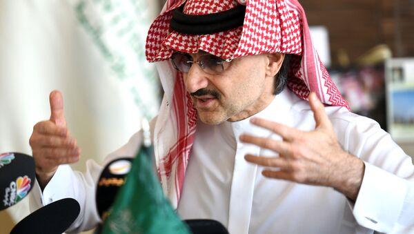 Saúdský princ  Alwaleed bin Talal - Sputnik Česká republika