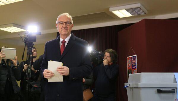 Jiří Drahoš - Sputnik Česká republika