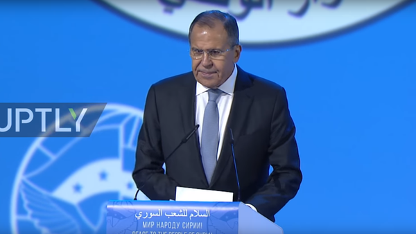 Lavrov musel na kongresu v Soči krotit syrské opozičníky - Sputnik Česká republika
