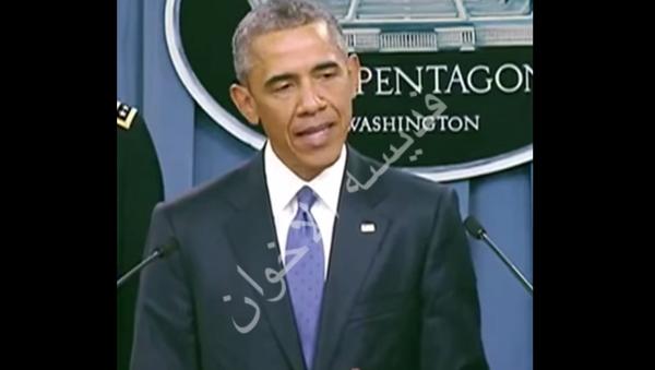 Obama se přeřekl, když prohlásil, že USA zrychlí výcvik sil IS - Sputnik Česká republika
