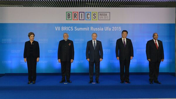 Lídři BRICS - Sputnik Česká republika