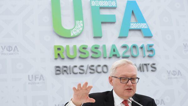 Náměstek ministra zahraničí Ruska Sergej Rjabkov - Sputnik Česká republika