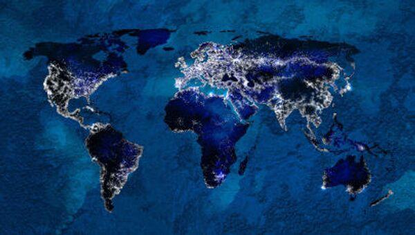 Карта глобального взаимодействия на планете Земля - Sputnik Česká republika