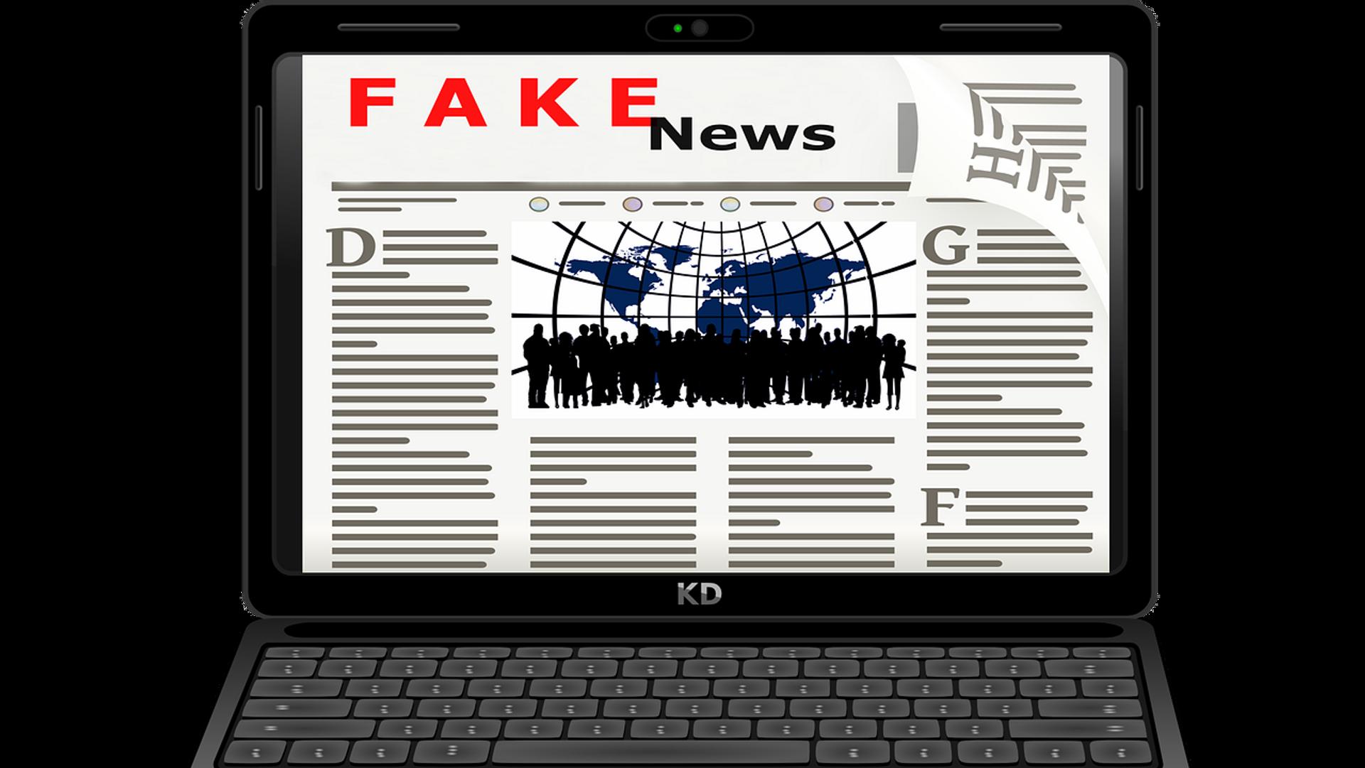 Fake News - Sputnik Česká republika, 1920, 26.08.2021