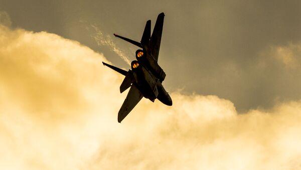 Izraelská stíhačka F-15 - Sputnik Česká republika