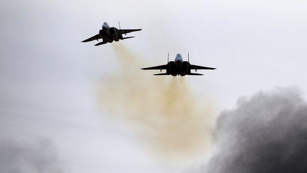 Izraelské stíhačky F-15 na základně Chacerim - Sputnik Česká republika