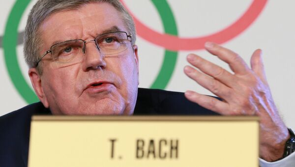 Prezident Mezinárodního olympijského výboru (MOV) Thomas Bach - Sputnik Česká republika