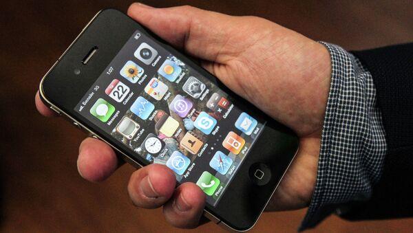Chytrý telefon iPhone 4G. Ilustrační foto - Sputnik Česká republika