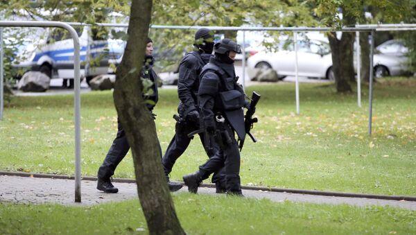 Němečtí policisté. Ilustrační foto - Sputnik Česká republika