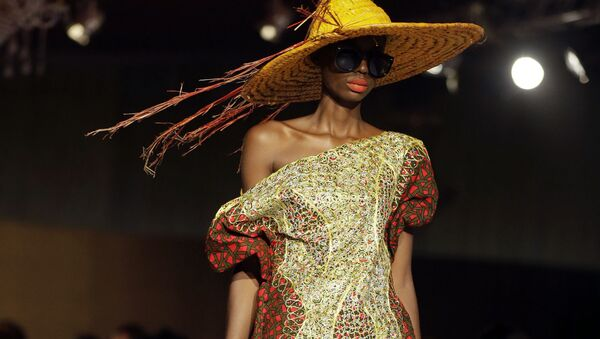 Africký týden módy v Nigérii - Sputnik Česká republika