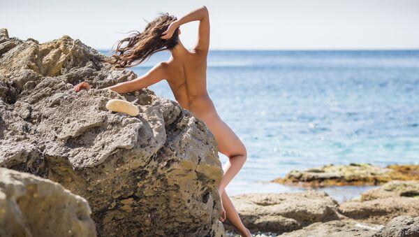 Nudistka. Ilustrační foto - Sputnik Česká republika