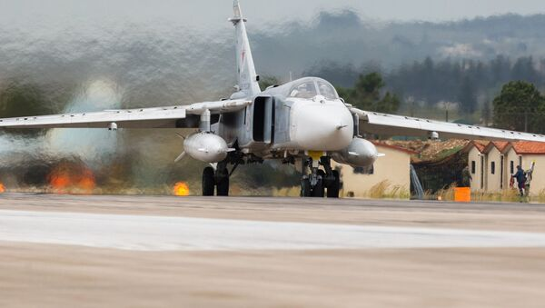 Ruský bombardér Su-24 - Sputnik Česká republika