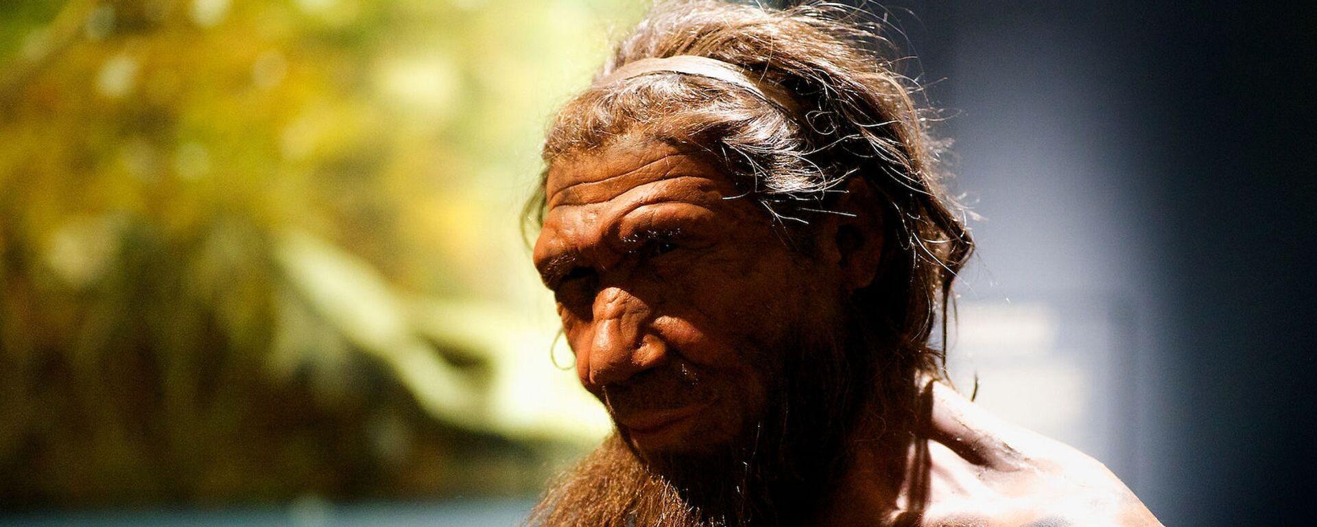 Neandertálec. Ilustrační foto - Sputnik Česká republika, 1920, 30.07.2021